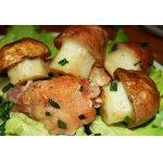 Грибочки  из картофеля на полянке