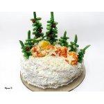 """Закусочный торт """"Лесная полянка"""""""