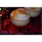 """Десерт """"Снежки в ванильном соусе с карамелью"""""""
