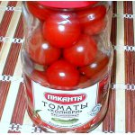 Консервированные... свежие помидоры