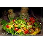 Свежий салат с мандариновой заправкой Новогодние традиции