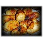 Пальчики из куриного филе с черносливом и кедровыми орешками