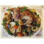Курица с овощами в рукаве для запекания