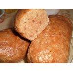 Домашняя печеночно-мясная колбаса