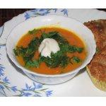 Морковный суп-пюре с апельсином и имбирем