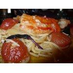 Спагетти с крабами
