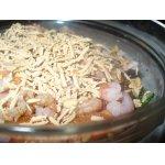 Постный салат с морепродуктами