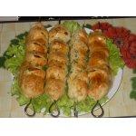 Кебабы из помидоров и сулугуни