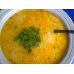 Суп картофельный с сыром