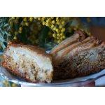 Пряный пирог-торт с грушами и кардамоном