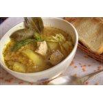 Суп с красной чечевицей и сельдереем