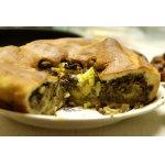 Куриная печень с брюссельской капустой в пироги