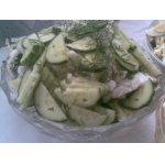 Просто овощной салатик