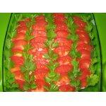 Салат из легкого и баклажанов