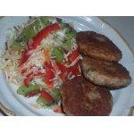 Салат из капусты и киви