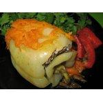 Перец фаршированный с кедровыми орешками