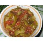 Салат из огурцов с помидорами