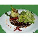 Фенхель, фаршированный анчоусами и овощами