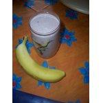 Кефирный напиток с фруктами