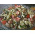 Селeдочный салат с оригинальной горчичной заправкой