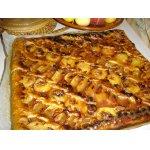 Летний пирог с абрикосами и яблоками