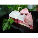 Клюквенный торт с зефиром