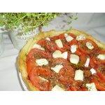 Тарт из помидоров и брынзы