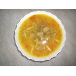 Суп с картофельным пюре