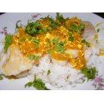 Рыба с соусом карри