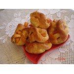 Открытые булочки с персиком