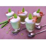 Зелeный суп-капучино Принцесса на горошине