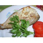 Рыба с чесноком