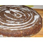 Яблочно-маковый пирог без муки