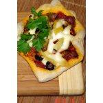Пицца порционная с цветной капустой и ананасами