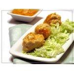 Куриные фрикадельки в цитрусовом соусе