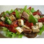 Яркий салат со свининой