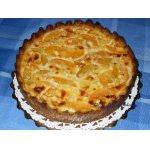 Киш Лорен с персиками и сыром бри