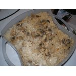 Рис с грибами и курицей в пароварке