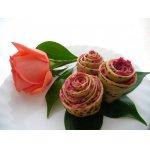 Розы из лаваша