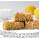 Лимонно-изюмный пирог
