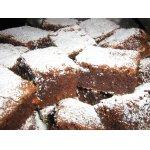 Карибское пирожное с имбирем, арахисом и коньяком