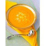 Морковный суп-пюре с имбирeм