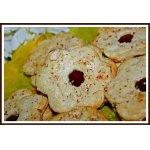 Миндальное печенье с джемом