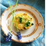 Сырные корзиночки-тарталетки с начинкой