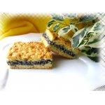 Пирог с творогом, маком и орехами