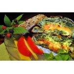 Омлет с сыром и шпинатом  для пикника