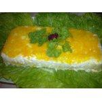 Нежный слоеный салат