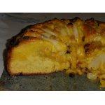 Грушевый торт с марципаном