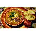 Суп из гороха, фасоли и чечевицы