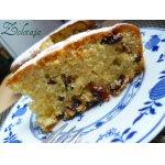 Осенний кекс с орехом и клюквой